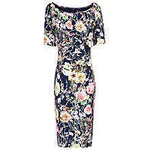 Buy Jolie Moi Floral Half Sleeve Shift Dress Online at johnlewis.com