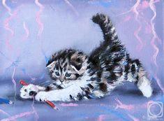 Alexander Gunin Cat Art