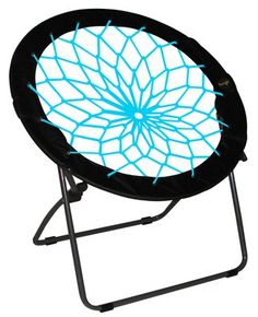 Teal Patio Dining Chairs Bunjo Chair Terrace Home Furniture Decor Idea NEW Gift Trampoline Chair, Bungee Chair, Ball Chair, Lounge, Patio Seating, Patio Dining, Dining Chairs, Camping, Garden Chairs