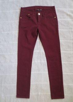 Kaufe meinen Artikel bei #Kleiderkreisel http://www.kleiderkreisel.de/damenmode/jeans/143328569-neue-jeans-in-bordeaux-gr-3638