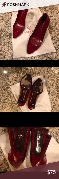 Tamara Mellon pumps Beautiful patent leather pumps. Like new. Worn once. tamara mellon Shoes Heels