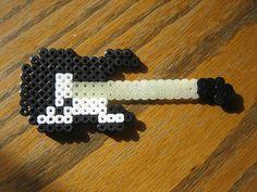 Perler Beads Guitar