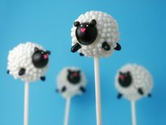 Cute cake pops from Bakerella