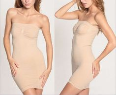 WomenS Seamless Full Body Firm Control Shaper Slim Tube Dress Shapewear Slips Shapewear - http://amzn.to/2hGpxP0