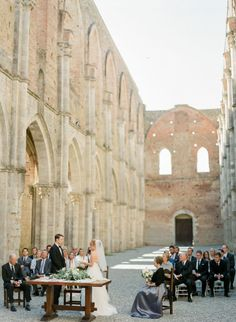 Photography : Peter & Veronika | Event Planning : Il Cerimoniere Italian Weddings | Wedding Dress : Sweetheart Gowns  | Venue : Villa La Selva Read More on SMP: http://www.stylemepretty.com/little-black-book-blog/2017/03/20/intimate-destination-wedding-in-tuscany-2/
