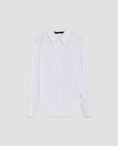 Image 6 of POPLIN SHIRT from Zara