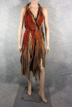 SPARTACUS SCREEN WORN FEMALE SLAVE DRESS COA (04 19 2013) 46d6c96e70a
