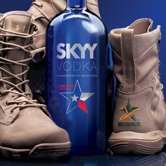 Huge THANKS go out to SKYY Vodka for their continued support of Boot Campaign and OUR U.S. Armed Forces!   They have released their 2nd Lone Star Edition Skyy Vodka bottle with proceeds benefitting Boot Campaign!   Who doesn't LIKE that?   Like it, LOVE it, Share it!