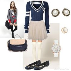 Preppy High School | Women's Outfit | ASOS Fashion Finder