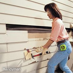 Siding Keep your aluminum and vinyl siding in great shape with these projects and tips that show you how to install and repair siding.