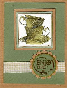 Galleria - Galleria Wing Selection: Special Release Kits - Exhibit: Tea Card for Swap