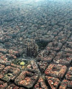 Barcelona, Aerial Photography    |     amazing texture inspiration
