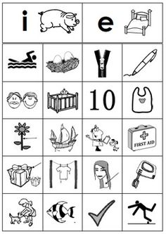 Free Short E vs. Short I Picture Sort Literacy Center #PhonemicAwareness #Phonics