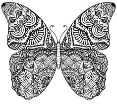 Butterfly mandala svg dxf eps products of tattoo coloring pages online Butterfly Coloring Page, Butterfly Drawing, Mandala Coloring Pages, Free Coloring Pages, Animal Coloring Pages, Butterfly Mandala Tattoo, Blue Butterfly, Mandala Art, Mandalas Drawing