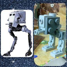 Día 22: AT-ST #starwars #atst #weapon #Lego #instalego #legogram #afol #adventcalendar #calendarioadviento