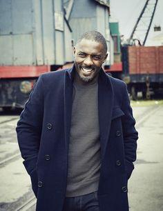 Idris Elba photographed by Simon Emmett for Esquire UK (Nov. 2013)