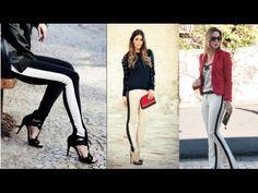 Costure uma calça listra lateral para você com Alana Santos Blogger - YouTube