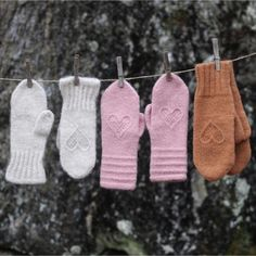 Perlemorvotten – KongleDesign Mittens Pattern, Gloves, Knitting, Armenia, How To Make, Collection, Patterns, Moon, Threading