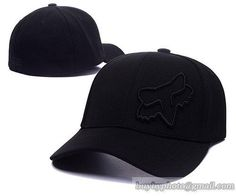 Fox Baseball Caps Curved Hats Black|only US$8.90 - follow me to pick up couopons.