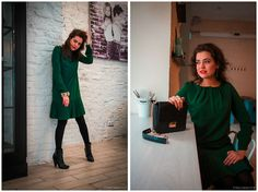 Zarina Dress, H&M Boots, Love Republic Bag