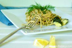 Lemony Dill Linguini with Clams