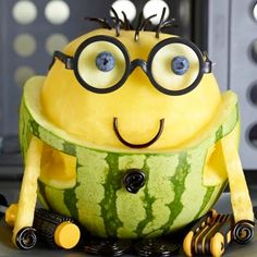 Food watermelon despicable me fruit character