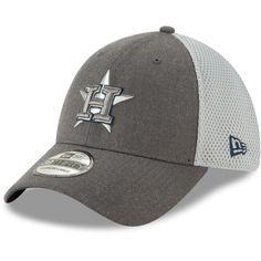 separation shoes 50a00 4e18b Men s Houston Astros New Era Graphite Neo 39THIRTY Flex Hat,  25.99