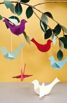 Paper birds by Rico (Diy Paper Birds)
