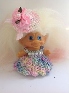 Troll Doll Clothes / Fits 2 1/2 - 2 3/4""
