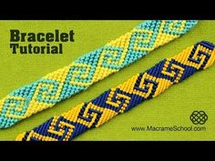 How to Make Greek Wave, Friendship Bracelet. This is a different way how to make Greek wave Friendship bracelet (without scheme). Bracelet looks nice from both sides. Please check out other Macramé Bracelets in Macrame Bracelet Tutorial, Friendship Bracelets Tutorial, Friendship Bracelet Patterns, Embroidery Shop, Learn Embroidery, Macrame Jewelry, Macrame Bracelets, Ankle Bracelets, Silver Bracelets