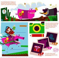 Tearaway Concept Art: Comic books as design docs | Media Molecule - Creators of LittleBigPlanet and Tearaway