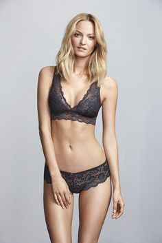 Lace top and thong | Gina Tricot Lingerie & Loungewear | www.ginatricot.com | #ginatricot