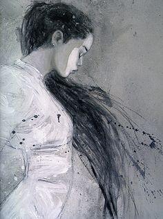 Luis Royo: Dead Moon [i am a huge fan of royo :D ] Kunst Online, Luis Royo, Spanish Artists, Fantasy Illustration, Digital Illustration, Art Plastique, Oeuvre D'art, Female Art, Painting & Drawing