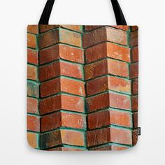 Brickstone pattern II Tote Bag by Pirmin Nohr - $22.00  A part of a brickstone wall, I think it's a nice design for mugs and pillows. Here's a similar pic of the same wall:  http://society6.com/PirminNohr/Bricks...ern-I#1=45