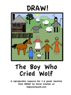 The Shepherd Boy and the Wolf Aesops Fable The Boy Who Cried
