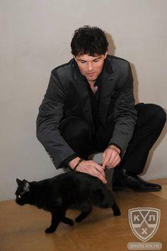 New Jersey Devils: Jaromir Jagr and a black cat
