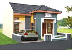 Architectural design for a minimalist home model can be placed or built with a fairly limited place. This type of . Modern Minimalist House, Latest House Designs, Picture Design, Architecture Design, Shed, Room Decor, Outdoor Structures, Building, Outdoor Decor