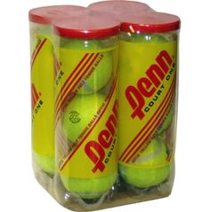 Penn Court One Heavy Duty Tennis Balls - 4 Can Pack - Dick's Sporting Goods