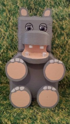 This little Hippo will add a smile to by CaroleCustomCreation