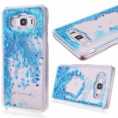 Clear Dynamic Liquid Glitter Colorful Paillette Sand Quicksand Case Cover For Samsung Galaxy 2015 J3 J5 J7 2016 Water Cases Back