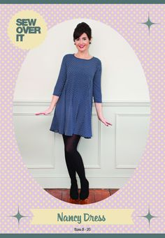 Purchase Sew Over It  Nancy Dress Downloadable Pattern and read its pattern reviews. Find other Dresses sewing patterns.