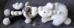 teddybears angels amigurumi  crochet wedding