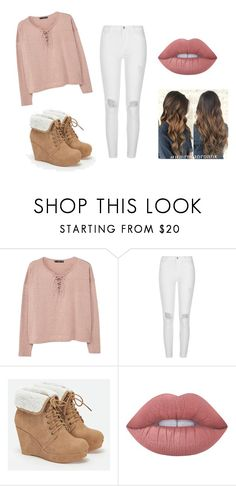 """~Spring Outfit #2~"" by abbycupcake02 ❤ liked on Polyvore featuring MANGO, River Island, JustFab and Lime Crime"