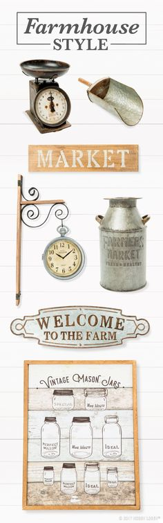 Upgrade your farmhouse look with fresh home decor pieces!