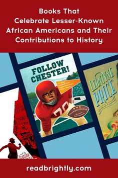 Historically, many African Americans and their contributions to society have been left out of American history books. Here are stories to help celebrate just a few of the countless individuals who, without fanfare, played key roles in history. Christian Robinson, Bryan Stevenson, Katherine Johnson, Books For Tweens, American Athletes, Tuskegee Airmen, African Americans, History Books, Learn To Read