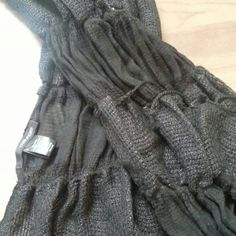 NWOT Maurices black textured scarf NWOT. Goes with everything! Maurices Accessories Scarves & Wraps