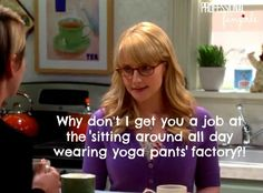 The Big Bang Theory Season 8-Bernadette helps Penny prepare for a job interview.