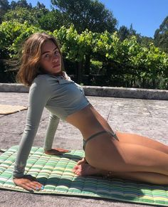 Actrices Sexy, Summer Aesthetic, Body Motivation, Body Inspiration, Looks Style, Summer Girls, Perfect Body, Belle Photo, Bikini Girls