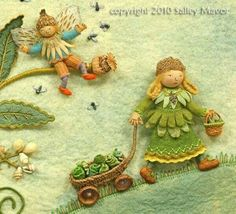 """Daffy-Down-Dilly from """"Pocketful of Posies"""" by Sally Mavor"""