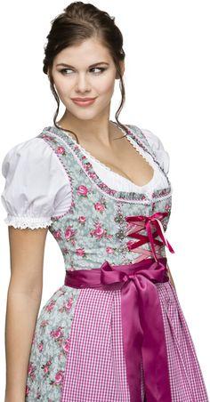 Mieder Lena in Rosa von Almsach